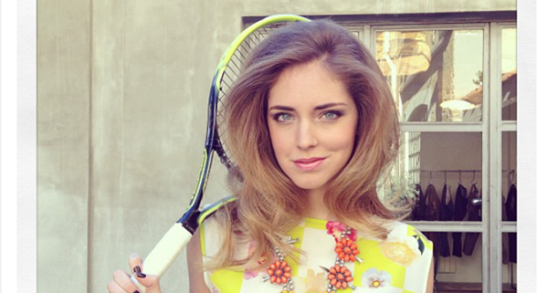 Chiara Ferragni - The Blonde Salad Does Tennis