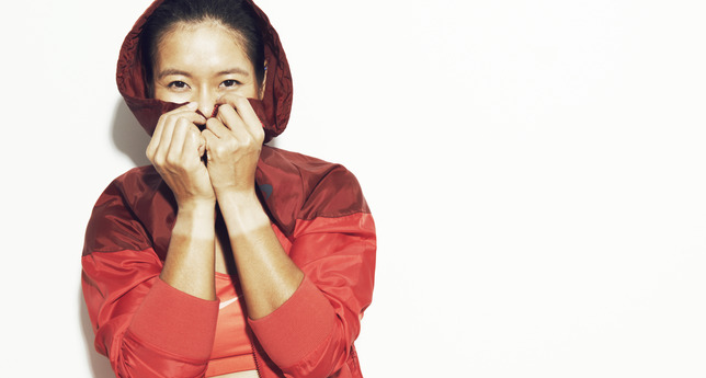 Li Na - Nike Women's Spring 2013 lookbook