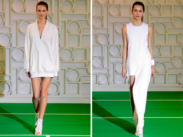 Lisa Perry Spring 2014 - Tennis Fashion
