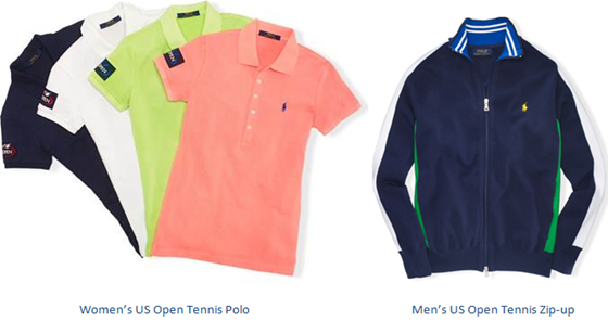 ralph lauren US Open 2014